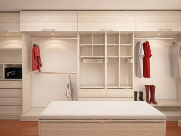 BM Diseño closet tendencia minimalista chicureo 1