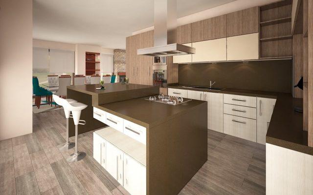 Proyecto Chicureo - Cocina - BM Diseno