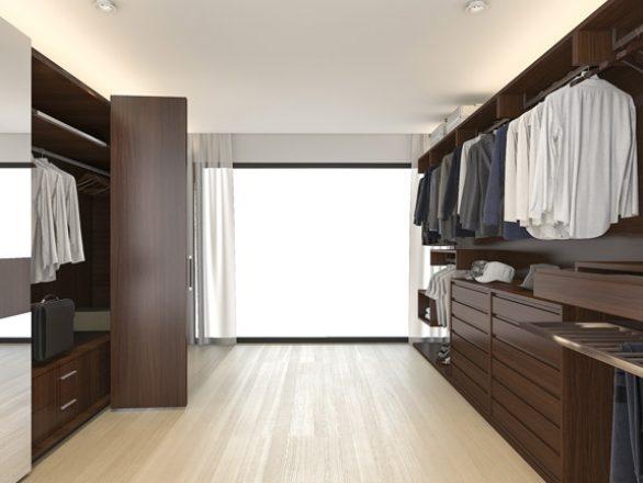 BM Diseño closet tendencia minimalista 01