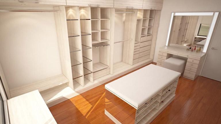 BM Diseño closet tendencia minimalista chicureo_2