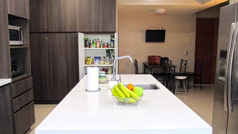 BM Diseño cocina tendencia moderna las condes 2
